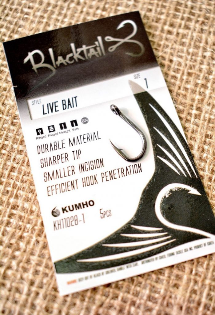Blacktail Livebait Hook