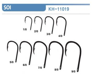Blacktail Soi Offset Hook Size Chart